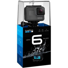 Gopro Hero 6 Black 12mp 4k Novo + Nf