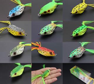 Kit 10 Sapinho Frog Artificial Pesca Promoção!!!