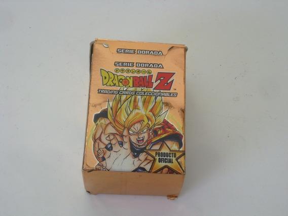 Juego De Cartas Dragon Ball Z Serie Dorada Producto Oficial