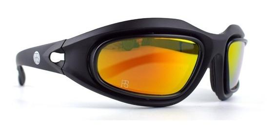 Anteojos/gafas Fs O Daisy C5 Polarizados 4 Lentes Cambiables