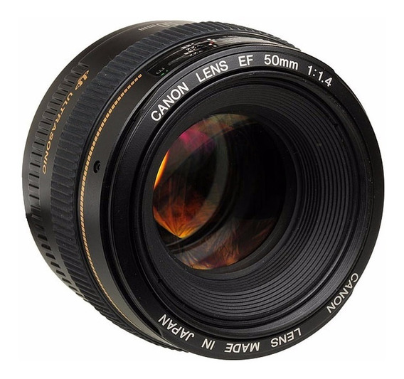 Lente Canon Ef 50mm F/1.4 Usm Ultrasonic 100% Original Nova