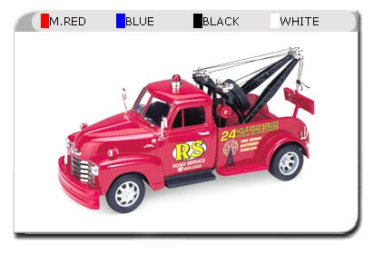 Chevrolet Tow Truck 1953 Auto 1:24 Welly Lionels 2086
