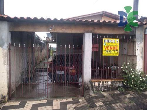 Casa Com 2 Dormitórios À Venda, 80 M² Por R$ 200.000 - Vila Formosa - Jacareí/sp - Ca0100