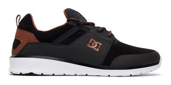 Tênis Dc Shoes Heathrow Prestige Black Brown White