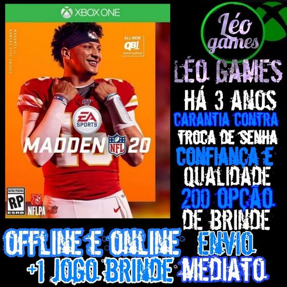 Madden Nfl 20 - Xbox One - Mídia Digital 2020 + Brinde