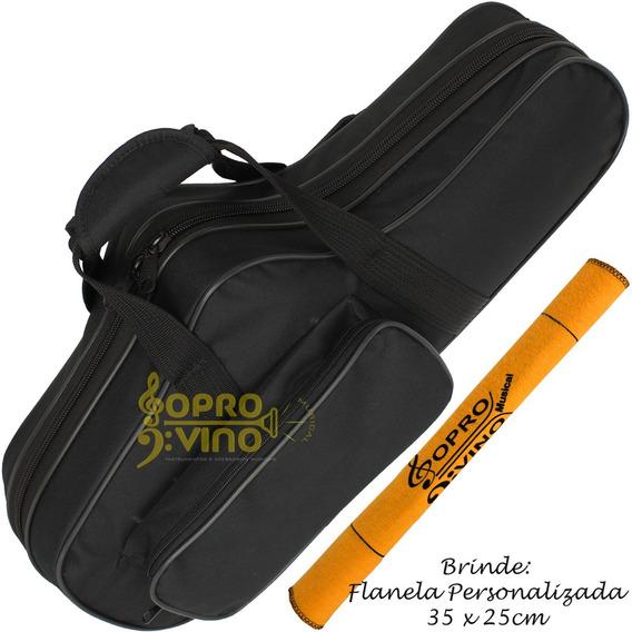 Semi Case Sax Alto Rígido Hard Bag E.v.a Solid Sound