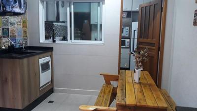 Sobrado Com 3 Dormitórios À Venda, 107 M² Por R$ 460.000 - Jardim Utinga - Santo André/sp - So3211