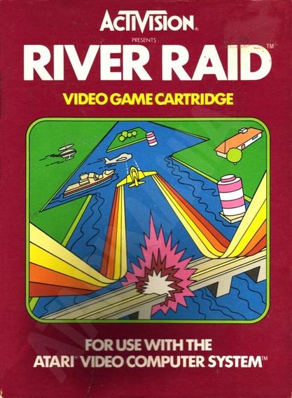 Cartucho Jogo Game Atari 2600 River Raid 1982 Novo