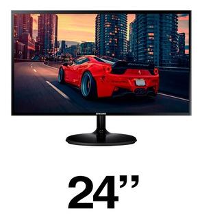 Monitor Samsung Full Hd 24 Hdmi Vga Ls24f350fhlxzl 3 Años