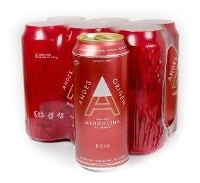 Cerveza Andes Origen Roja 473ml