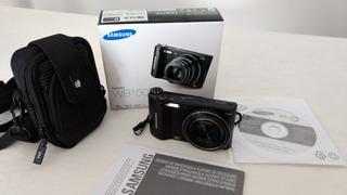 Cámara De Fotos Samsung Wb150f+bolso+memoria