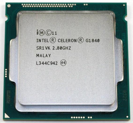 Processador Intel Celeron G1840 4ªgeração Lga 1150 + Cooler