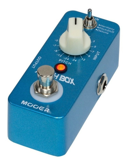 Pedal Mooer Pitch Box Harmony/pitch Shifting