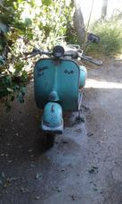 Motoneta Vespa Modelo Año 1956