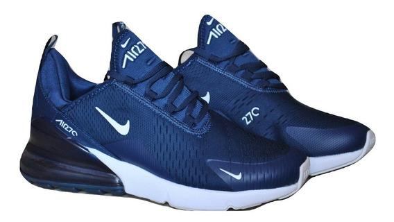 Kp3 Zapatos Caballeros Nike Air Max 270 Azul Marino
