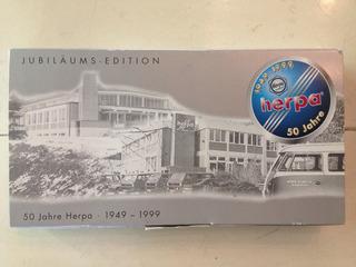 Set Comemorativo 50 Anos Herpa 1/87 Miniatura Caminhão