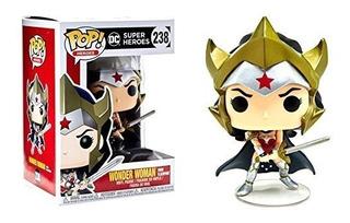 Funko Pop! Dc Heroes #238 Wonder Woman Flashpoint Hot Topic