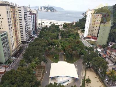 Apartamento Residencial À Venda, Centro, São Vicente. - Ap1120