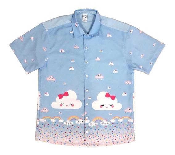 Camisa Chuva De Amor Pai Adulto Festa