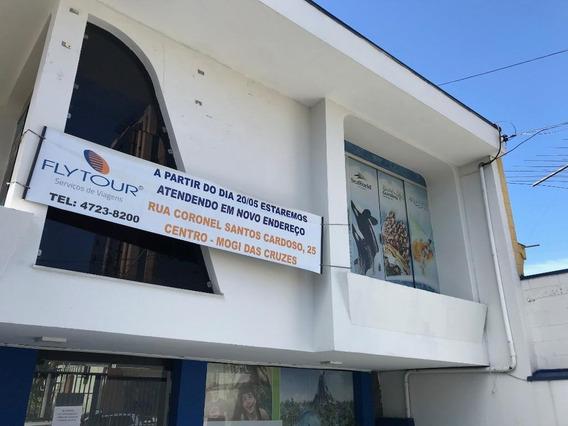 Sobrado Em Centro, Mogi Das Cruzes/sp De 491m² 3 Quartos Para Locação R$ 8.000,00/mes - So375822