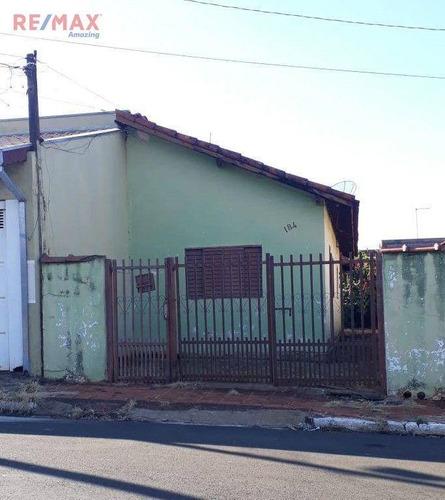 Imagem 1 de 1 de Casa Com 2 Dormitórios À Venda, 53 M² Por R$ 87.000,00 - Vila Bentivenha - Areiópolis/sp - Ca0089