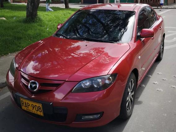 Mazda 3 Motor 2.0 2010 Rojo 4 Puertas Caja Secuencial