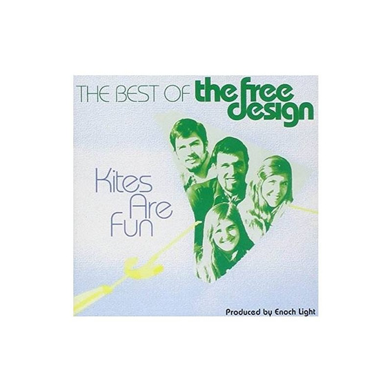 Free Design Kites Are Fun: Best Of Usa Import Cd Nuevo