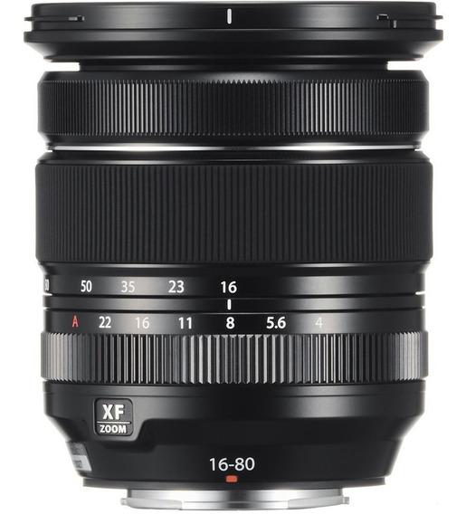 Lente Fujifilm Xf 16-80mm F/4 R Wr Fuji Substituta 18-55mm