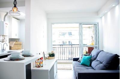 Apartamento Mobiliado No Condomínio Mont Blanc, No Bela Vista, Osasco - Ap35701