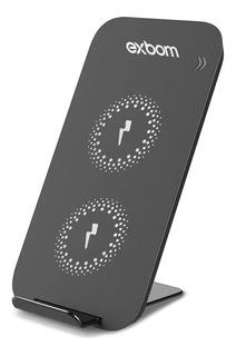 Carregador Sem Fio Wireless Indução Duplo Fast Charge X2