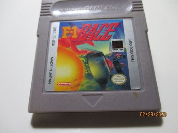 F-1 Race/original Para Nintendo Game Boy