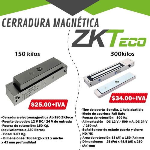 Cerradura Iman Magnetica Control De Acceso Zkteco
