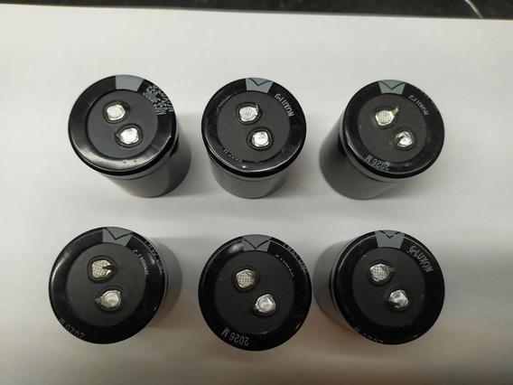 Capacitor 560uf 350v. Novo ( 6 Peças )