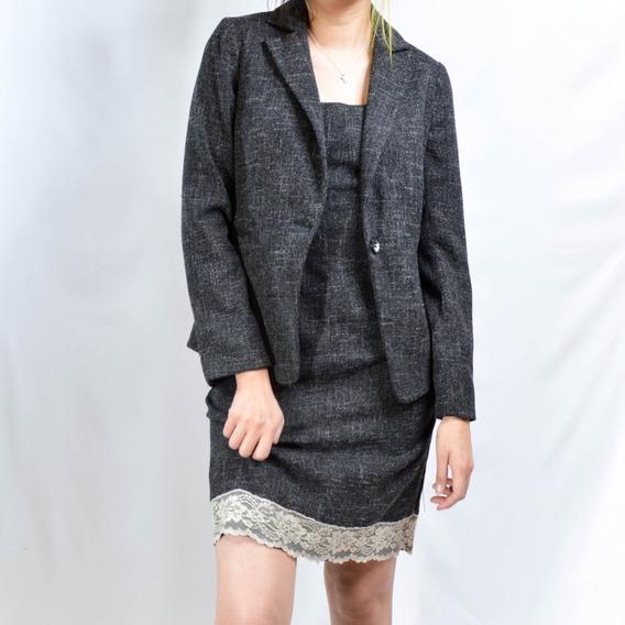 Conjunto Formal Para Dama Saco Y Vestido Marsel