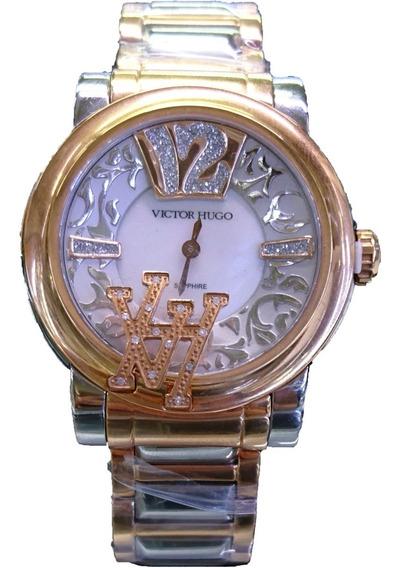 Relógio Victor Hugo Com Diamantes - 11128lssr/28m