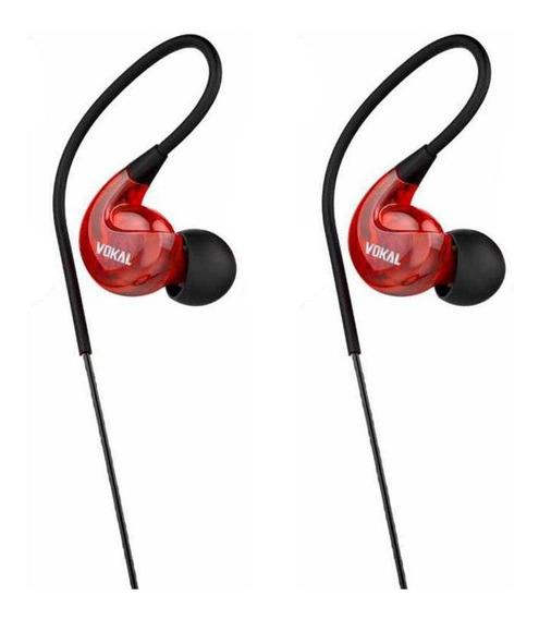 Fone Ouvido Profissional Vokal E40 Retorno Monitor In Ear
