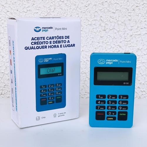 Maquininha Point Mini - A Máquina De Cartão Do Mercado Pago.