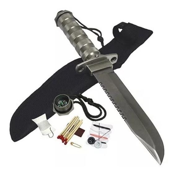 Cuchillo De Supervivencia Puñal Militar Tactico Accesorios