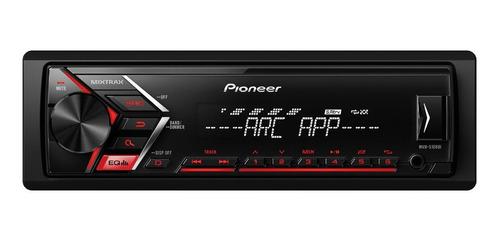 Som automotivo Pioneer MVH S108UI com USB
