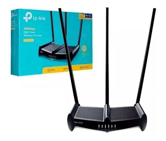 Router Wifi Rompe Muros Tp-link Tl-wr941hp 450mbps 3 Antenas