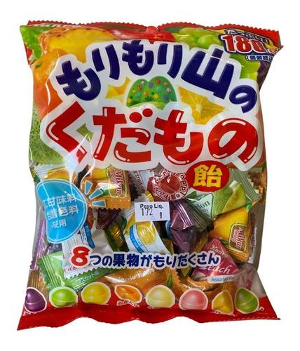 Imagem 1 de 1 de Bala Sortida 8 Frutas Mori Mori Yama No Kudamoto Ame Kanro