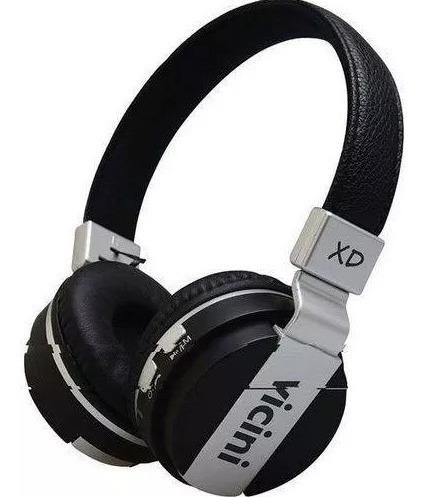 Fone De Ouvido Headphone Preto Vc-71p Sem Fio Vicini Novo