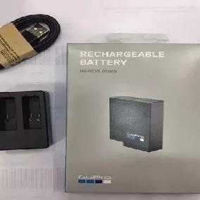 Bateria Original 100% Gopro Hero 5 6+carregador Gopro Duplo