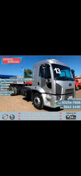 Ford Cargo 2429 2013 Prata