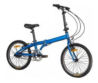 Bicicleta Plegable Aluminio Yoga Philco Rodado 20 Tio Musa
