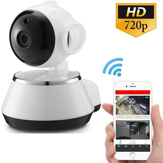 Camara Ip Wifi Vigilancia 360 Hd Espia Alarma App V380 Robotica Seguridad Vision Nocturna Sensor Mov