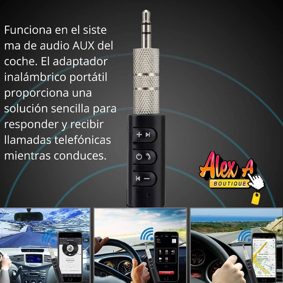 Receptor Audio Bluetooth 3.5 Mm Música Promocio 2 Por 10vrd