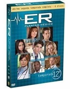 Box Dvd Série: Er - Plantão Médico, 12ª Temp, Novo E Lacrado