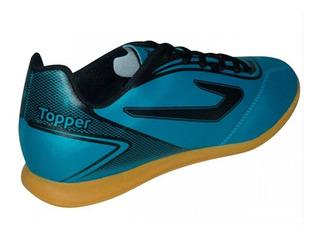Tênis Topper Futsal Masculina - Azul | Loreto Sports
