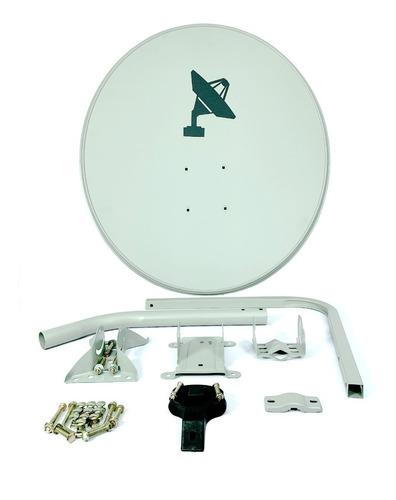 Antena Parabólica Satelital 65 Cm Mercado Libre